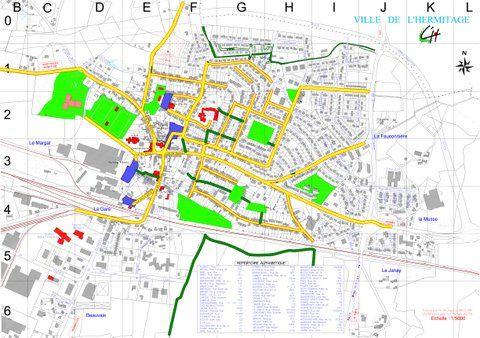 Image du plan de la commune
